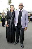 Keisha Whitaker and Forest Whitaker attend the Stella Artois Lounge during the 2014 Film Independent Spirit Awards at Santa Monica Beach on March 1...
