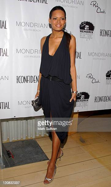 Keisha Whitaker during Los Angeles Confidential Magazine in Association with Morgans Hotel Group Celebrates the 2007 Oscars with Forest Whitaker Rob...