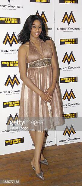 Keisha White during 2006 MOBO Awards Nominations Outside Arrivals at Proud Gallery in London Great Britain