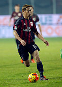 Keisuke Honda during the Italian Serie A soccer match between Frosinone and AC Milan at Matusa Stadium in Frosinone Milan won with score of 4 2