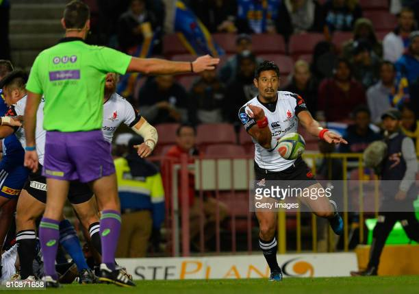Keisuke Uchida of the Sunwolves during the Super Rugby match between DHL Stormers and Sunwolves at DHL Newlands on July 08 2017 in Cape Town South...