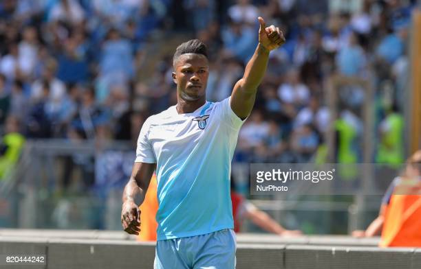 Keita Balde during the Italian Serie A football match between SS Lazio and US Sampdoria at the Olympic Stadium in Rome on may 7 2017