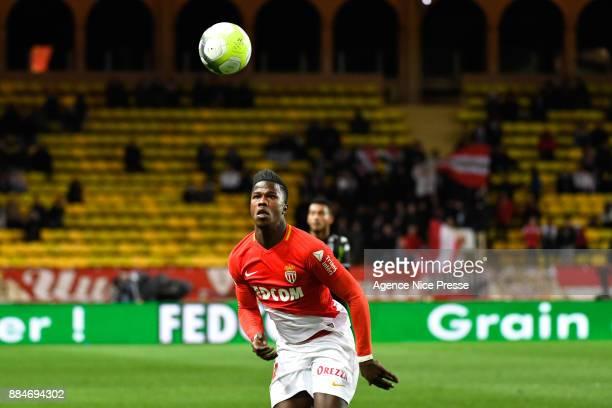 Keita Balde of Monaco during the Ligue 1 match between AS Monaco and Angers SCO at Stade Louis II on December 2 2017 in Monaco