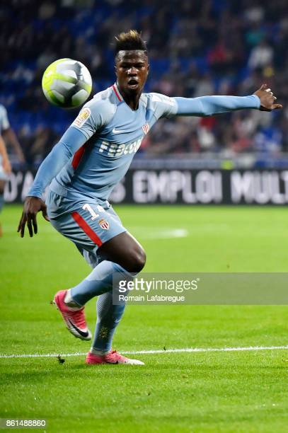 Keita Balde of Monaco during the Ligue 1 match between Olympique Lyonnais and AS Monaco at Stade des Lumieres on October 13 2017 in Lyon