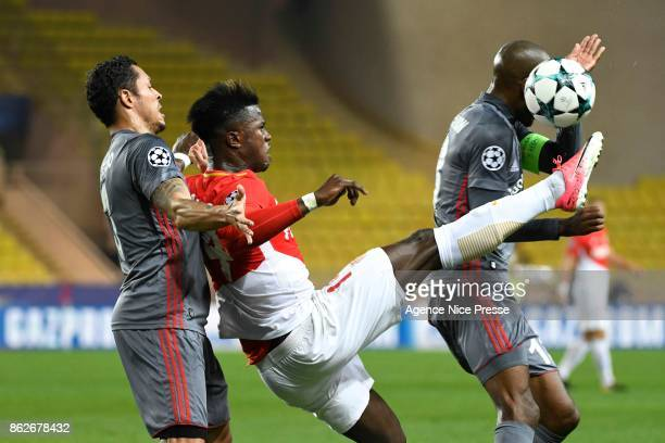 Keita Balde of Monaco during the UEFA Champions League match between AS Monaco and Besiktas Istanbul at Stade Louis II on October 17 2017 in Monaco...