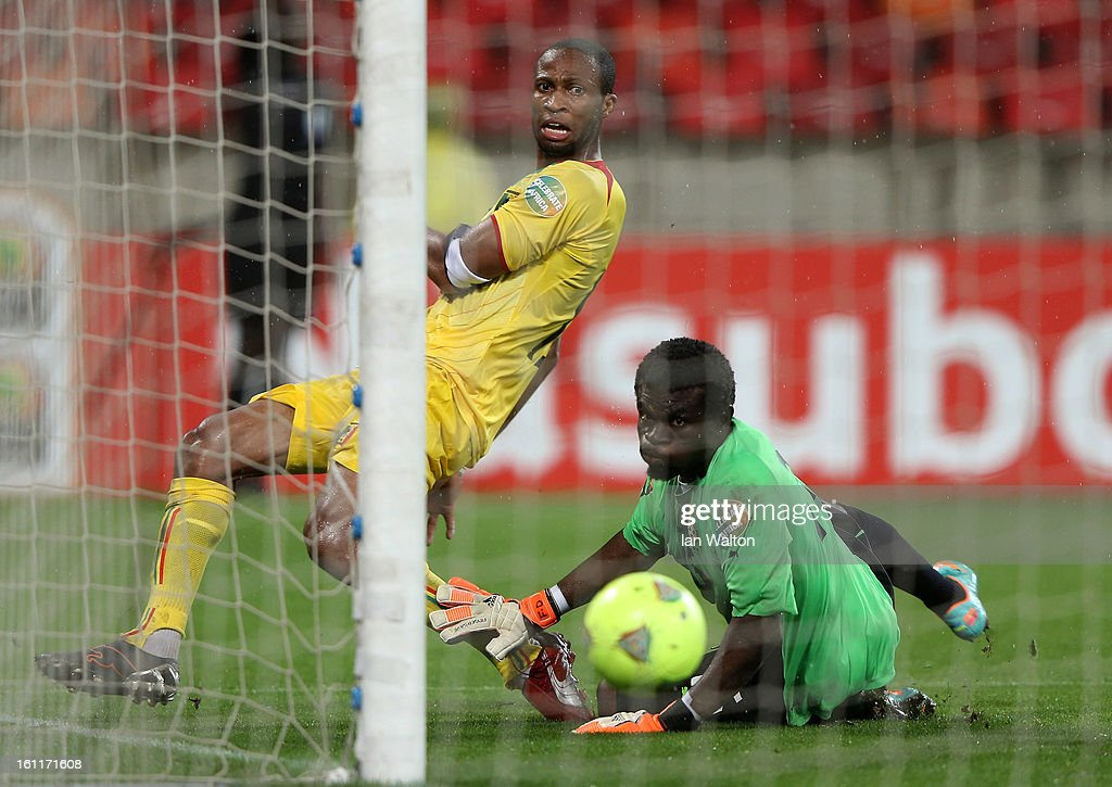Keita Seydou of Mali takes a shot on goal during the 2013 Africa Cup of Nations Third Place Play-Off match between Mali and Ghana on February 9, 2013 in Port Elizabeth, South Africa.