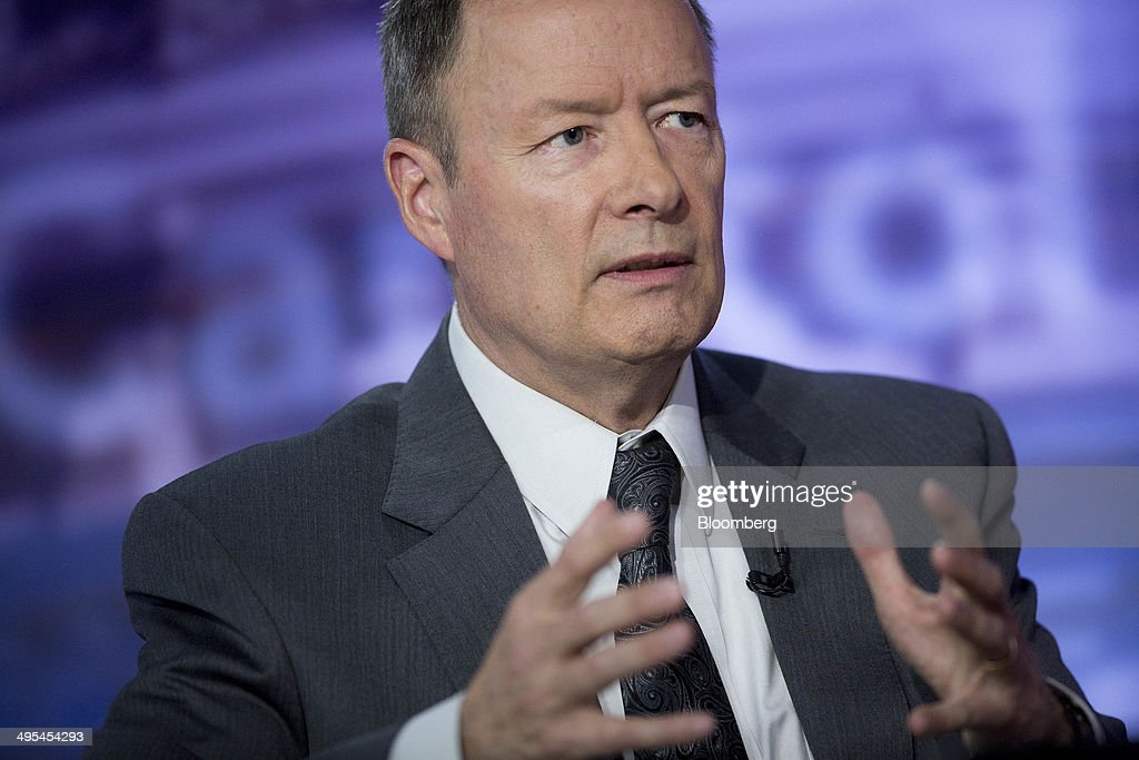 Keith Alexander former director of the National Security Agency and former commander of US Cyber Command speaks during a Bloomberg Television...
