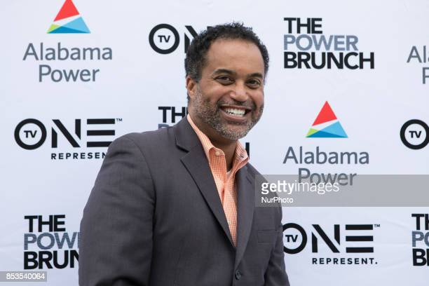 Keith Alexander Pulitzer Prize winner Washington Post reporter at the TV One sponsored CBC Power Brunch at RPM Italian in Washington DC on Friday...