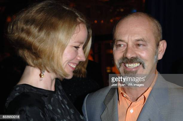 Keith Allen at the Golden Compass World Premiere afterparty at the Tobacco Docks in London