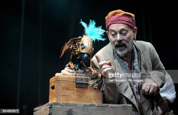 Keith Allen attends a photocall to promote 'Treasure Island' a new stage adaptation of Robert Louis Stevenson's Classic by Ken Ludwig at the Theatre...