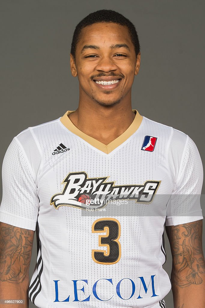 Keith Appling of the Erie Bayhawks poses for a head shot during media day on November 9 2015 at the Tullio Arena in Erie Pennsylvania NOTE TO USER...