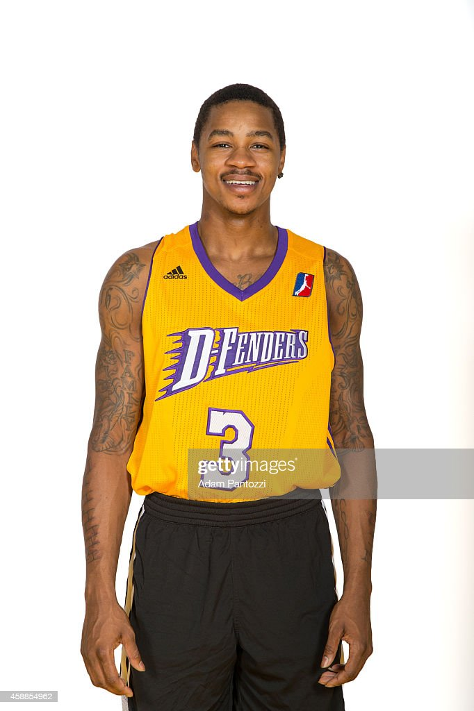 Keith Appling of the Los Angeles DFenders pose for a photo during media day on November 11 2014 at Toyota Sports Center in El Segundo California NOTE...