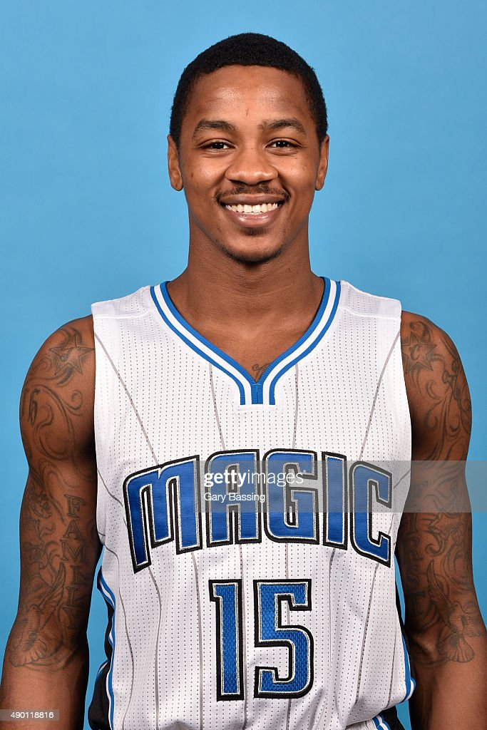 <a gi-track='captionPersonalityLinkClicked' href=/galleries/search?phrase=Keith+Appling&family=editorial&specificpeople=7367720 ng-click='$event.stopPropagation()'>Keith Appling</a> #15 of the Orlando Magic poses for a headshot during NBA Media Day on September 25, 2015 at Amway Center in Orlando, Florida.