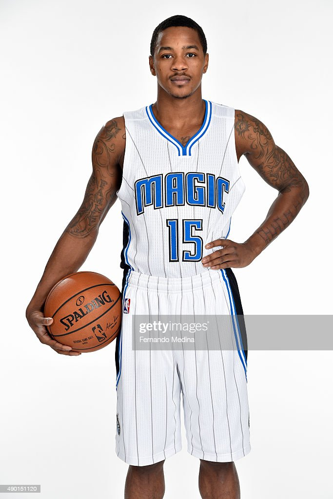 Keith Appling of the Orlando Magic poses for a portrait during NBA Media Day on September 25 2015 at Amway Center in Orlando Florida NOTE TO USER...