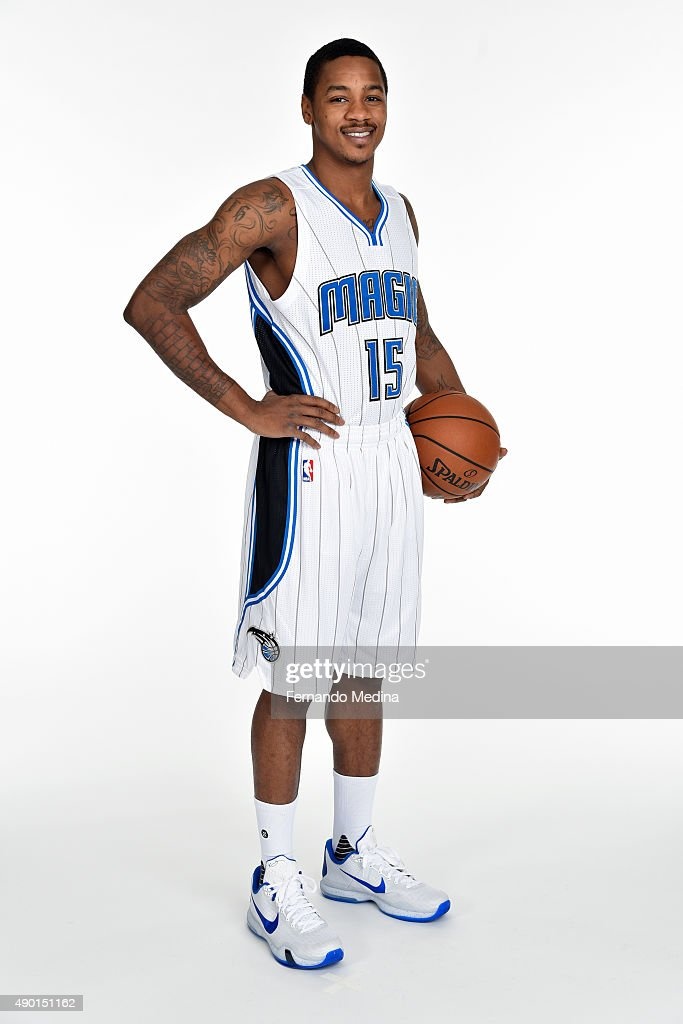 <a gi-track='captionPersonalityLinkClicked' href=/galleries/search?phrase=Keith+Appling&family=editorial&specificpeople=7367720 ng-click='$event.stopPropagation()'>Keith Appling</a> #15 of the Orlando Magic poses for a portrait during NBA Media Day on September 25, 2015 at Amway Center in Orlando, Florida.