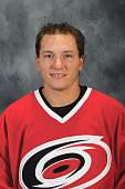 Keith Aucoin of the Carolina Hurricanes poses for a portrait at RBC Center on September 122005 in Charlotte North Carolina