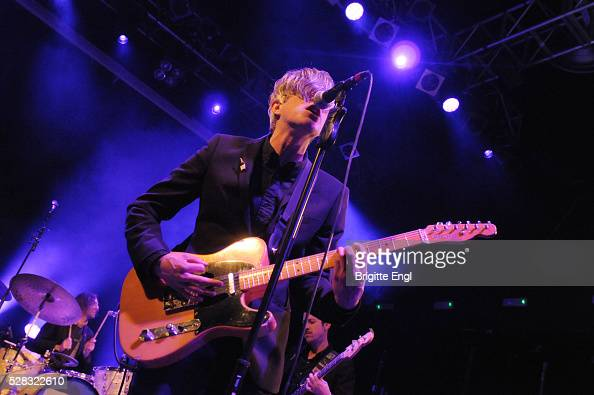 Keith Carne Keith Murray and Chris Cain of We Are Scientists perform at KOKO on May 4 2016 in London England