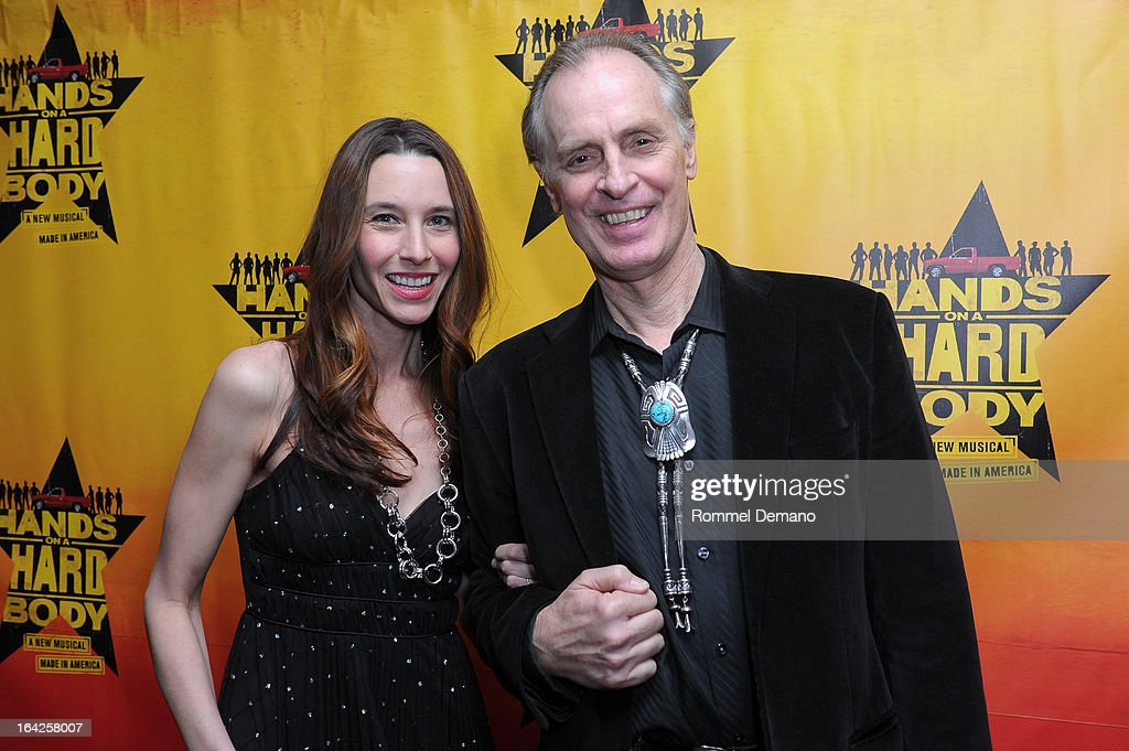 <a gi-track='captionPersonalityLinkClicked' href=/galleries/search?phrase=Keith+Carradine&family=editorial&specificpeople=218059 ng-click='$event.stopPropagation()'>Keith Carradine</a> (R) and guest attend 'Hands On A Hard Body' Broadway Opening Night After Party at Roseland Ballroom on March 21, 2013 in New York City.