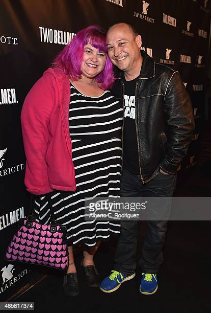 Keith Coogan attends the premiere of 'Two Bellmen' at The JW Marriott Los Angeles at LA LIVE on March 10 2015 in Los Angeles California