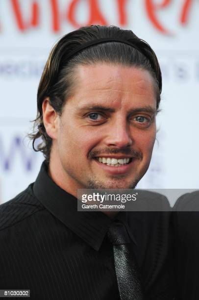Keith Duffy of Boyzone arrives for the Caudwell Children 'The Legends Ball' at Battersea Evolution on May 8 2008 in London England