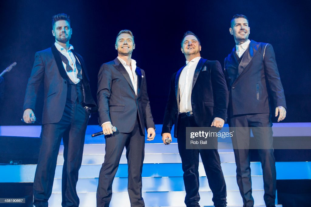 Boyzone Perform At The 02 Arena