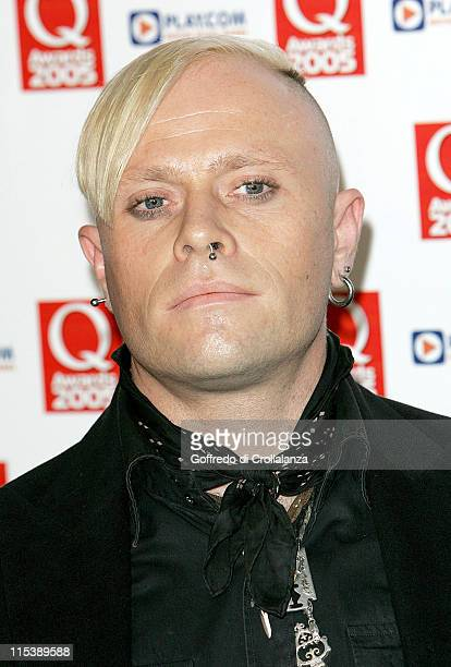 Keith Flint of The Prodigy during 2005 Q Awards at Grosvenor House Hotel Park Lane in London Great Britain