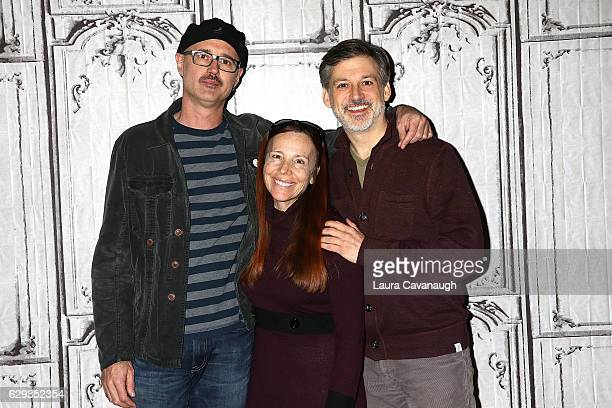 Keith Fulton Vonda Viland and Lou Pepe attend Build Presents to discuss 'The Bad Kids' at AOL HQ on December 12 2016 in New York City