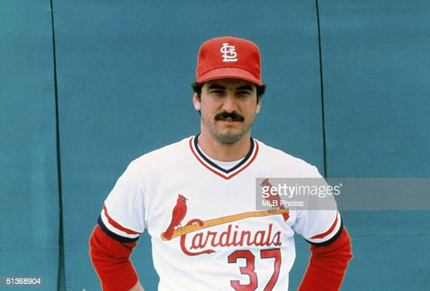 Keith Hernandez of the St Louis Cardinals poses for a portrait Keith Hernandez played for the St Louis Cardinals from 19741983
