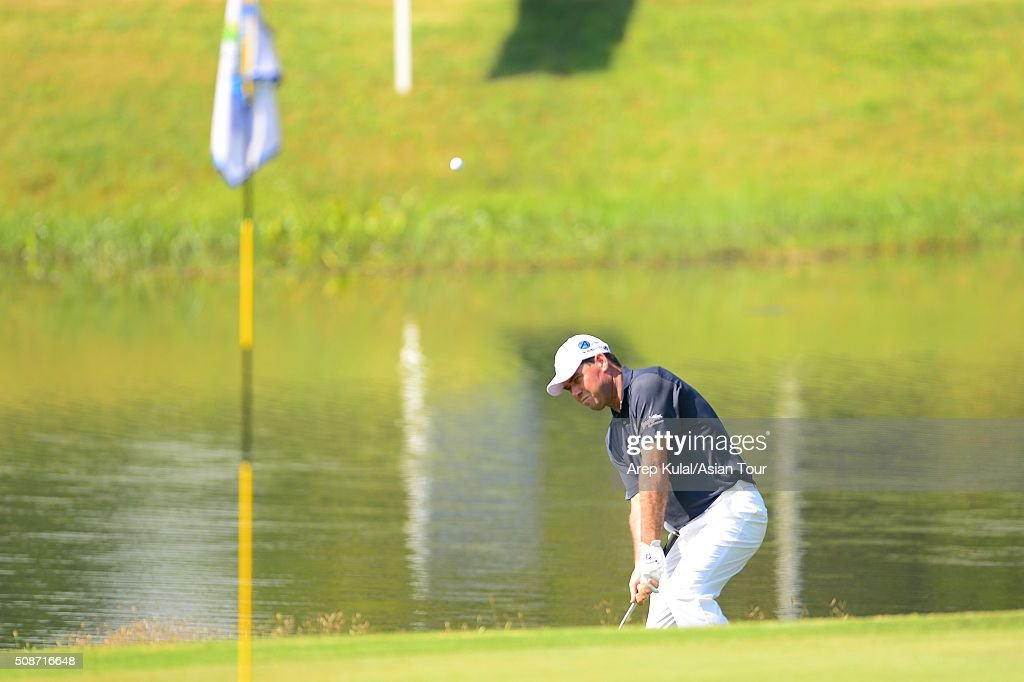 Keith Horne of South Africa pictured during round three of the Leopalace21 Myanmar Open at Royal Mingalardon Golf and Country Club on February 6, 2016 in Yangon, Myanmar.