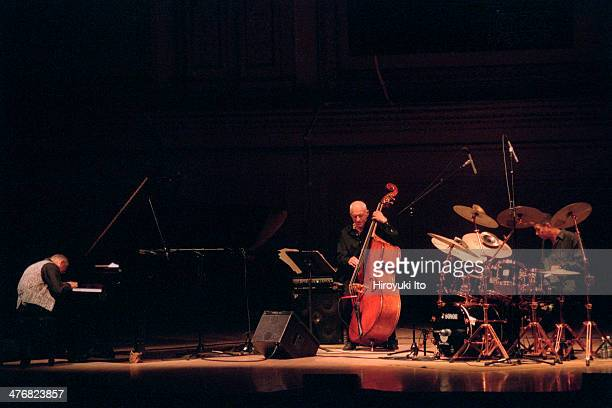 Keith Jarrett Gary Peacock and Jack DeJohnette performing at Carnegie Hall on Wednesday night June 26 2002