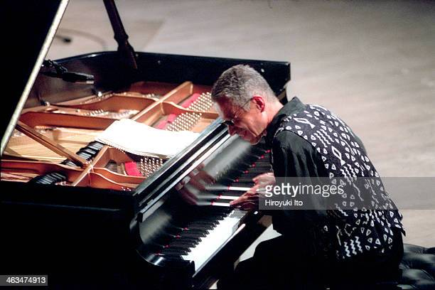 Keith Jarrett performing at Carnegie Hall on Tuesday night June 26 2001 as part of JVC Jazz Festival