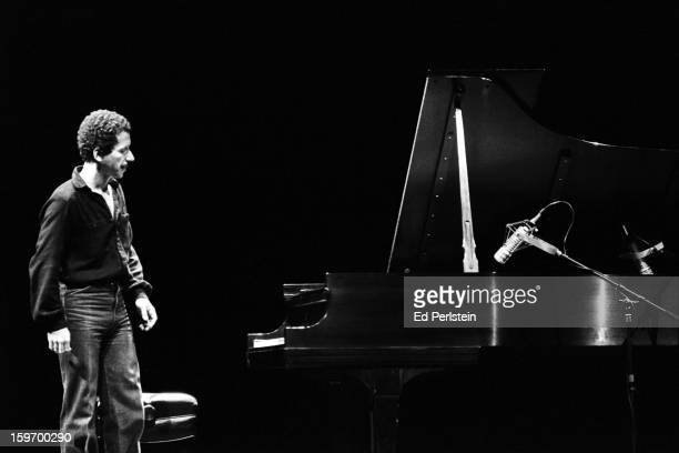Keith Jarrett performs during the Berkeley Jazz Festival at the Greek Theatre in May 1980 in Berkeley California