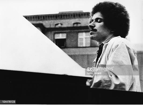 Keith Jarrett performs on stage in 1973 in the United States