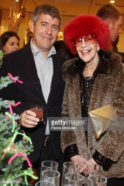 Keith Johnson and Connie Emmerich attend Anthropologie Hosts US Book Launch of BLOW BY BLOW at Anthropologie at Rockefeller Center on November 3 2010...