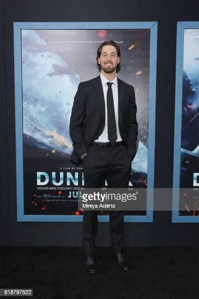 Keith Kinkaid attends the 'DUNKIRK' New York Premiere on July 18 2017 in New York City