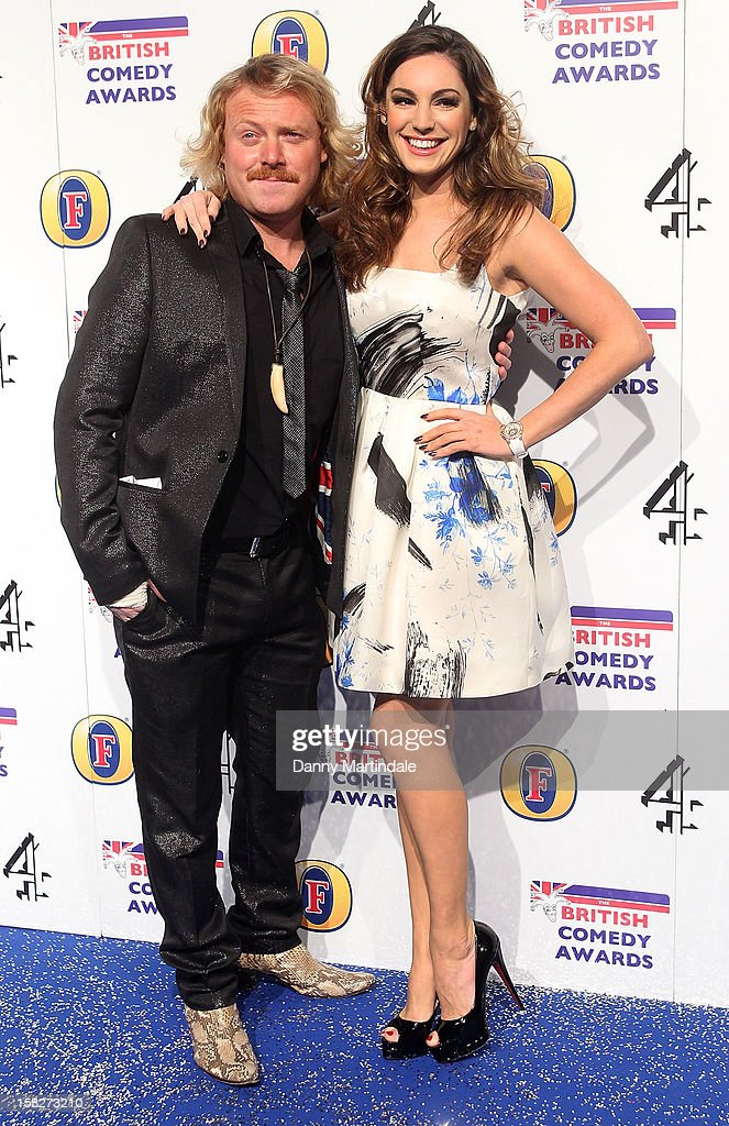 Keith Lemon aka Leigh Francis and Kelly Brook attends the British Comedy Awards at Fountain Studios on December 12, 2012 in London, England.