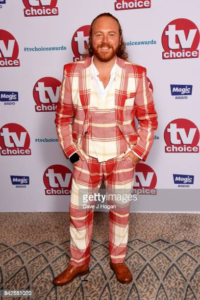 Keith Lemon arrives at the TV Choice Awards at The Dorchester on September 4 2017 in London England