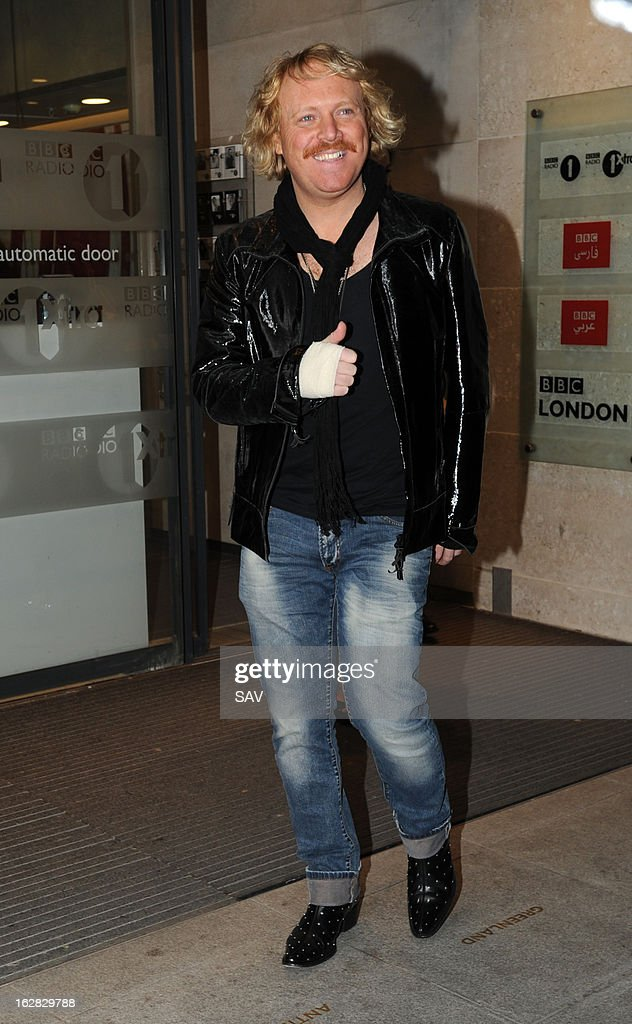 Keith Lemon pictured at Radio 1 on February 28, 2013 in London, England.
