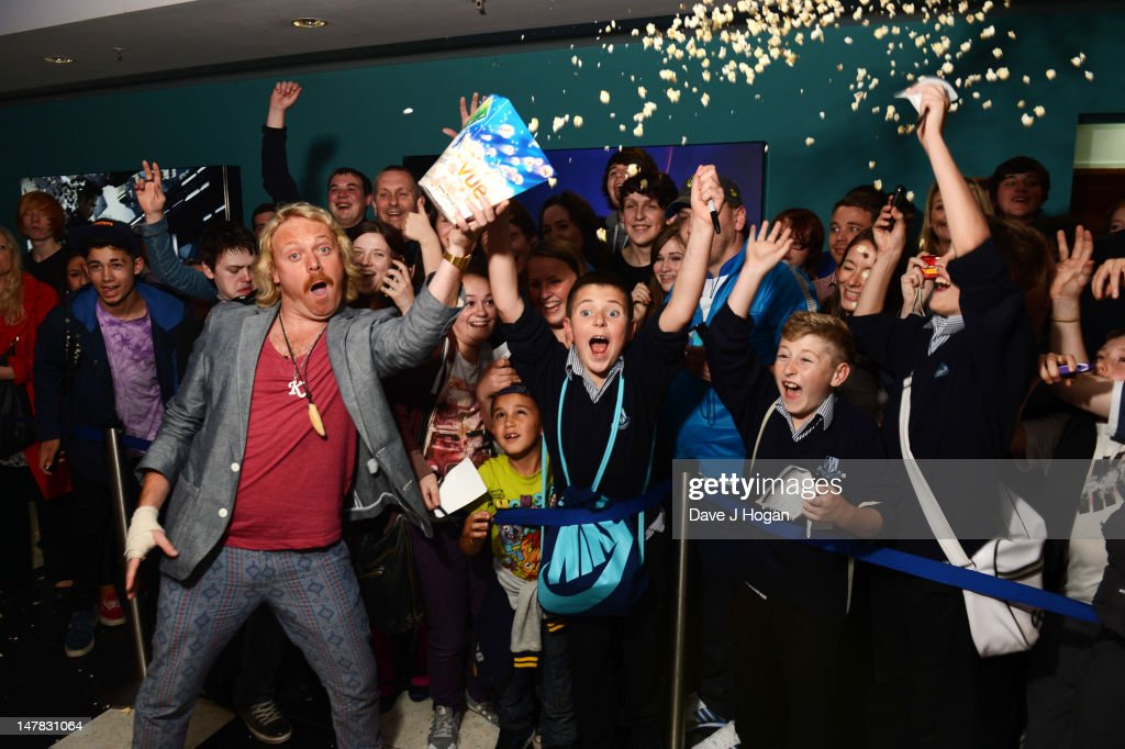 Keith Lemon poses as he travels to five UK destinations to meet with his fans and give away premiere tickets for his upcoming feature film debut Keith Lemon The Film, which is released in cinemas on 24th August. at The Vue Light on July 4, 2012 in Leeds, England.