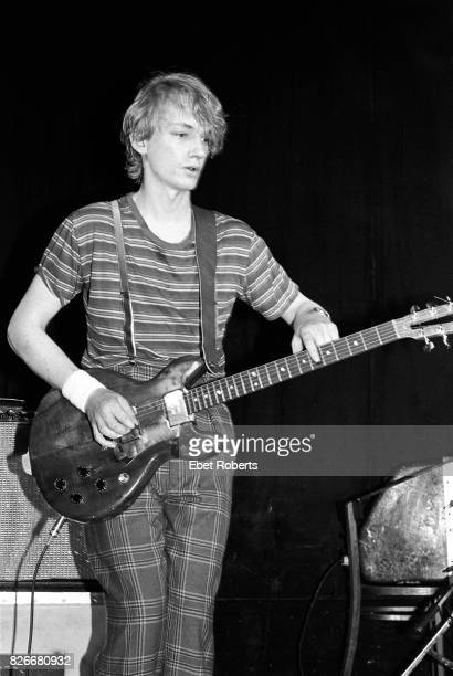 Keith Levene performing with Public Image Ltd at Great Gildersleeves in New York City on April 22 1980