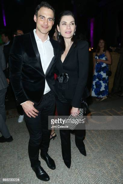 Keith Lieberthal and Julianna Marguiles attend the 2017 Moth Ball A Moth Summer Night's Dream at Capitale on June 6 2017 in New York City