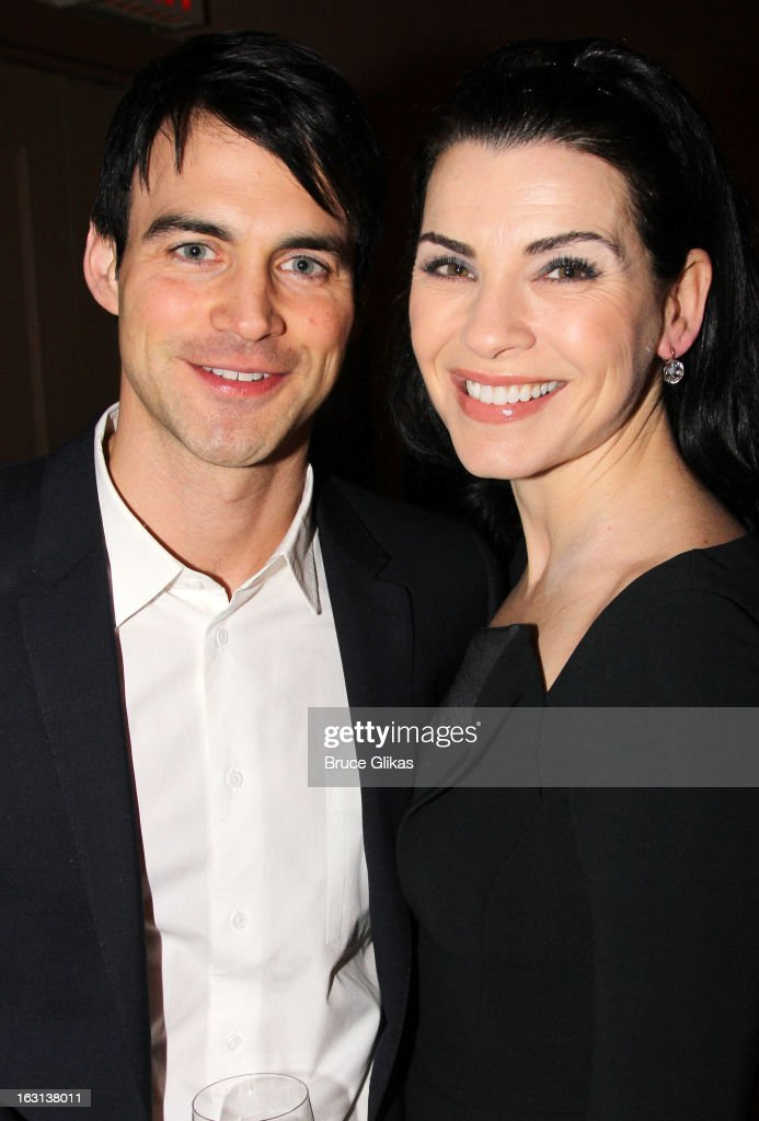 Keith Lieberthal and wife <a gi-track='captionPersonalityLinkClicked' href=/galleries/search?phrase=Julianna+Margulies&family=editorial&specificpeople=208994 ng-click='$event.stopPropagation()'>Julianna Margulies</a> attend MCC Theater Company's Miscast 2013 at Hammerstein Ballroom on March 4, 2013 in New York City.