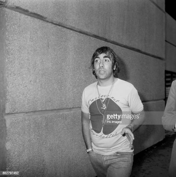 Keith Moon drummer of The Who rock group who was ordered off a British Airways jet in the Seychelles yesterday after what a row with a pilot at...