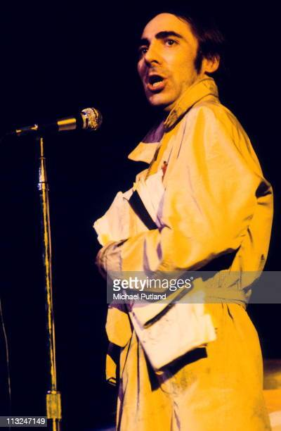 Keith Moon of The Who performs in a stage version of 'Tommy' at the Rainbow Theatre London 9th December 1972