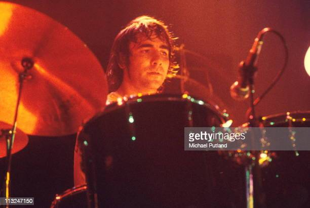 Keith Moon of The Who performs on stage in Paris 9th September 1972