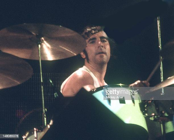 Keith Moon performs with The Who at The Gator Bowl in Jacksonville FL on August 7 1976