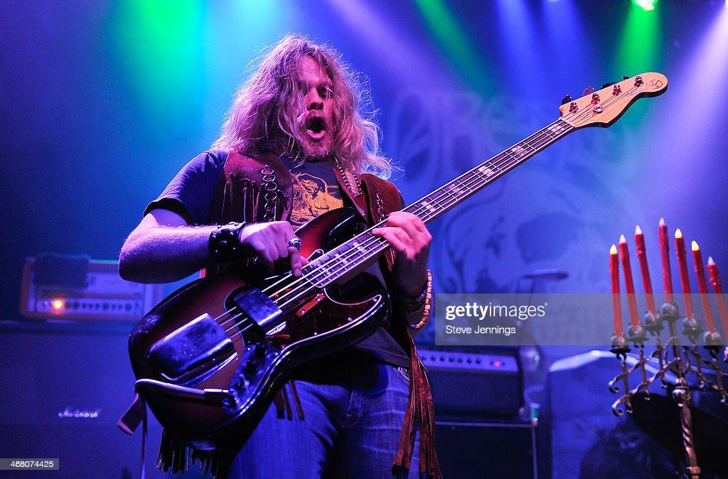 Keith Nickel of Orchid performs at Kirk Von Hammett's Fear FestEvil at Grand Regency Ballroom on February 8, 2014 in San Francisco, California.