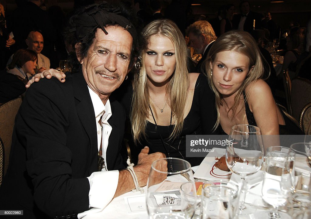 Keith Richards, Alexandra Richards and Theodora Richards *EXCLUSIVE*