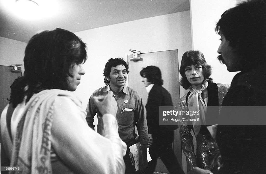The Rolling Stones, Ken Regan Archive, Backstage 1970's