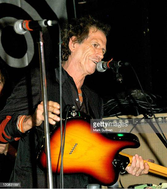 Keith Richards during Keith Richards at 'The Joint' Performing With Waddy's Rockers at The Joint in Los Angeles California United States